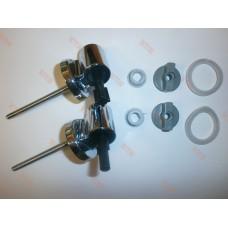 Комплект крепления с микролифтами (металл) МКВ